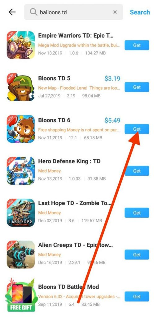 Download BTD6 APK free
