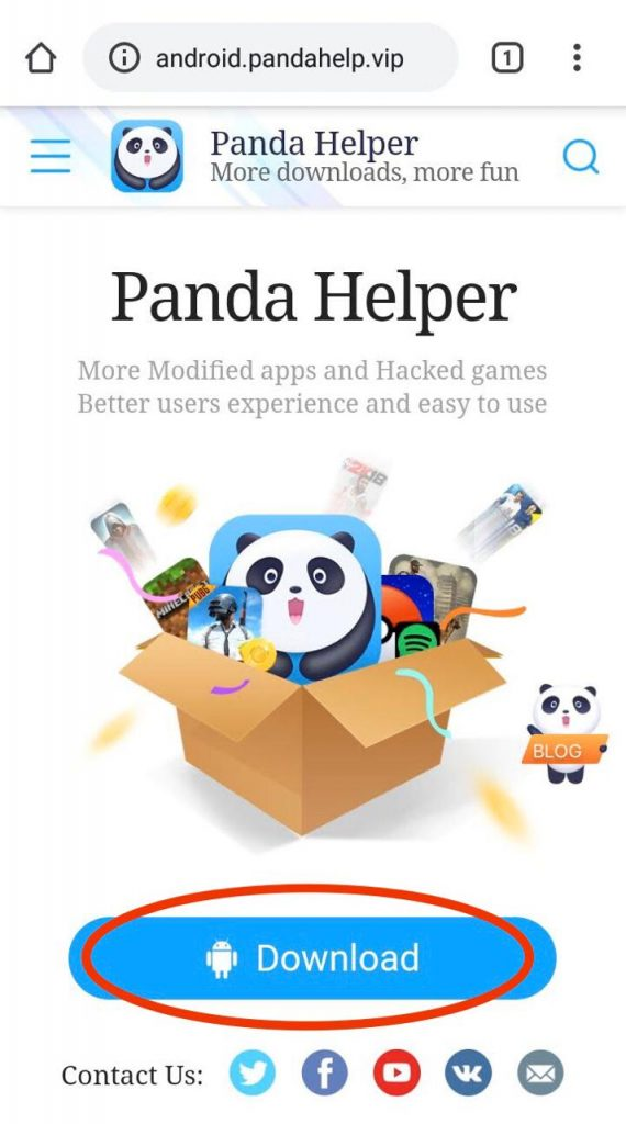 Download pandahelper