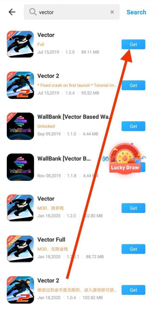 Vector MOD APK Download