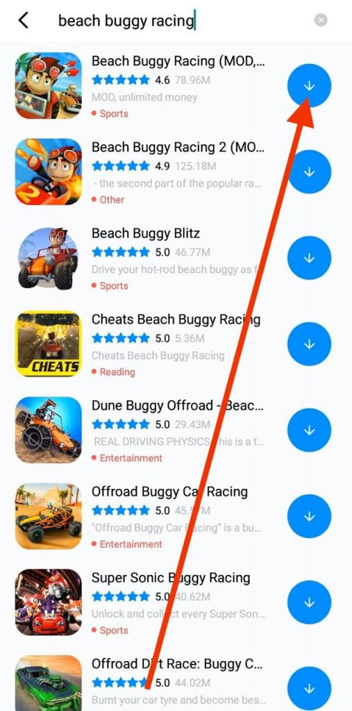 Beach Buggy MOD Unlimited Money and gems