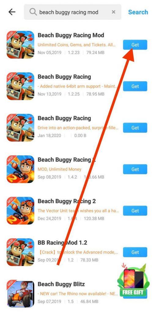 Beach Buggy Racing MOD APK Downlaod