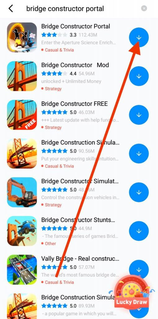 Download Bridge Constructor Portal APK