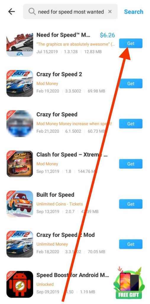 Need For Speed Most Wanted Free APK Download