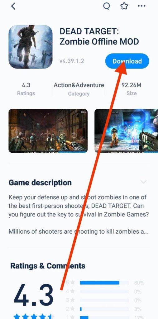Download Dead Target MOD APK