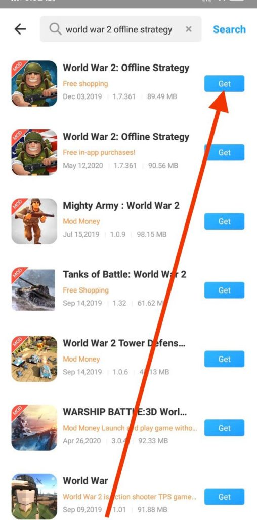 World War 2 offline strategy mod apk download