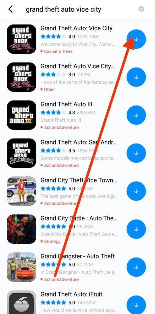 Grand Theft Auto Vice City Free Download Android