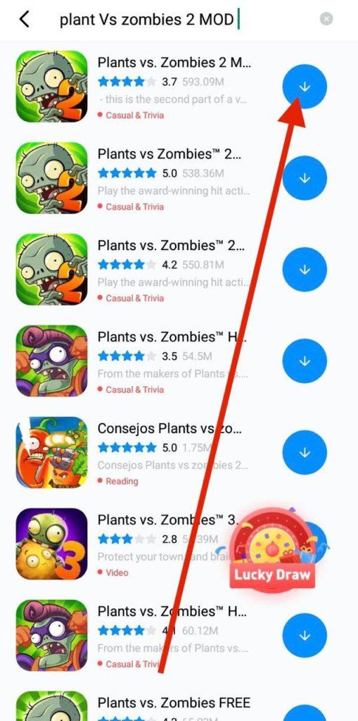 Download Plants vs Zombies 2 Premium Plants Hack